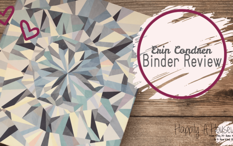 ERIN CONDREN NEW RELEASE – BINDER