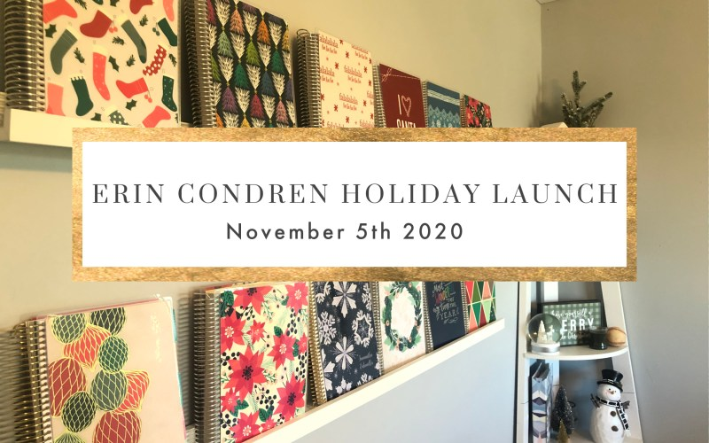 2020 ERIN CONDREN HOLIDAY PICKS