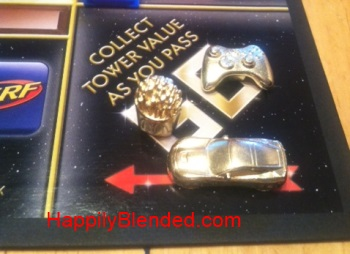 Monopoly Empire Board Game Pieces