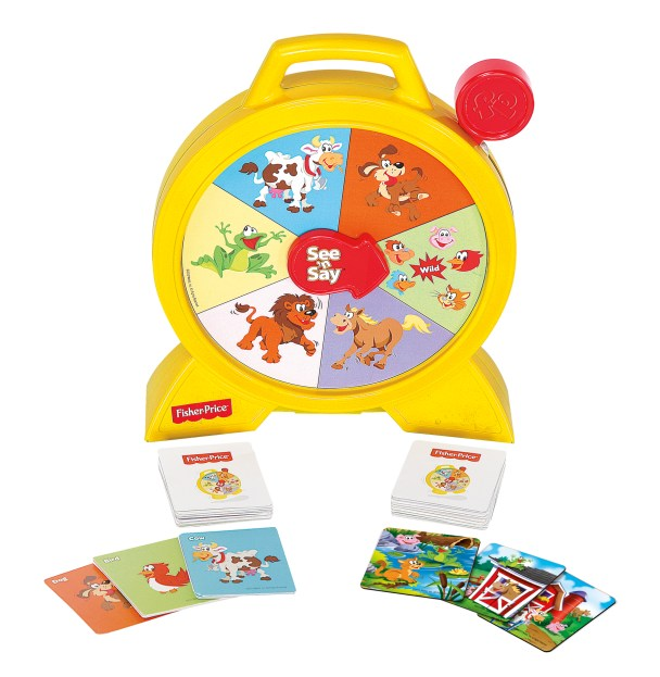 TCG Fisher-Price See n Say TalkingGame