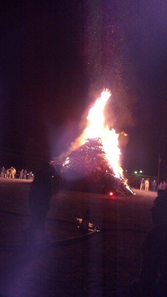 Homecoming Bonfire