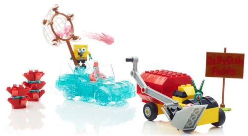Mega Bloks SpongeBob Squarepants™ Invisible Boatmobile Rescue Giveaway #InvisibleBoat @MegaBloks @SpongeBob