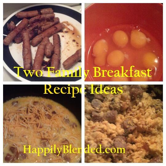 Two Family Breakfast Recipe Ideas