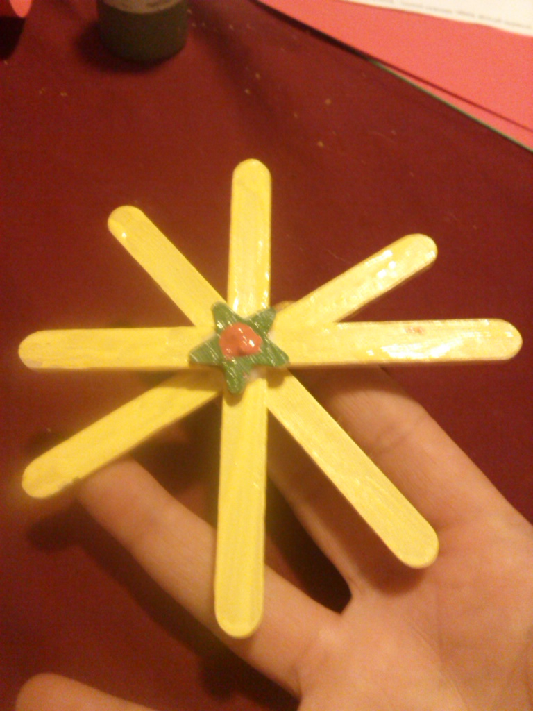 Popsicle Crafts: Star