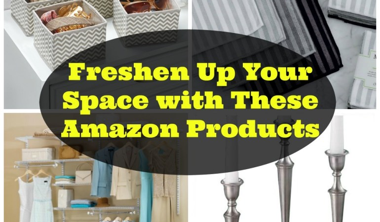 Freshen Up Your Space with These Amazon Products