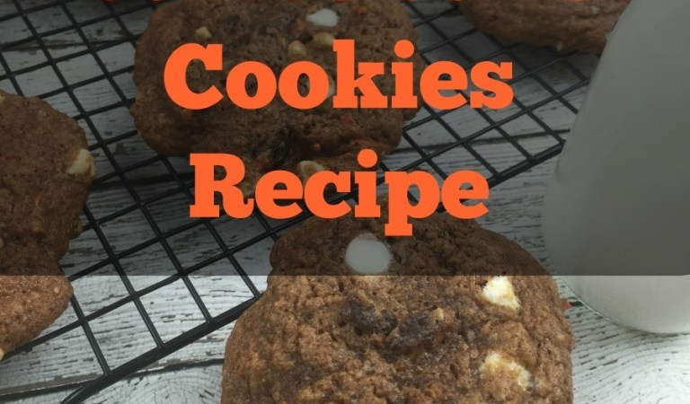 Carrot Cake Cookies Recipe