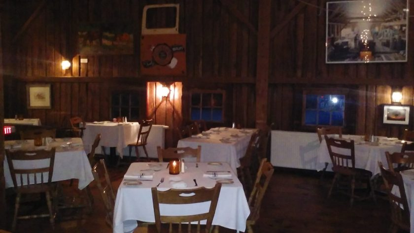 The Barn Restaurant  in Pawlet VT
