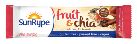 SunRype Energy & Fruit & Chia bars