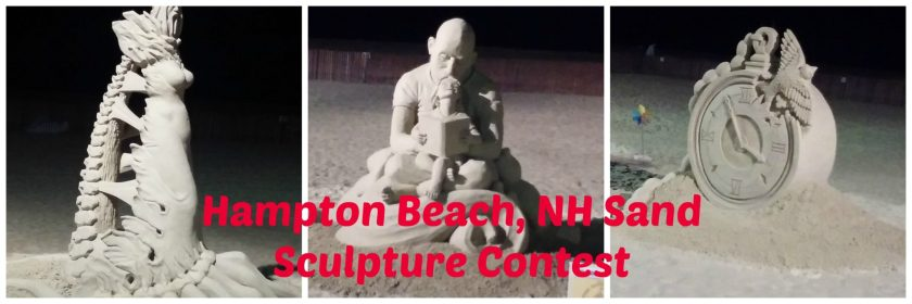 Hampton Beach NH Sand Sculpture Contest