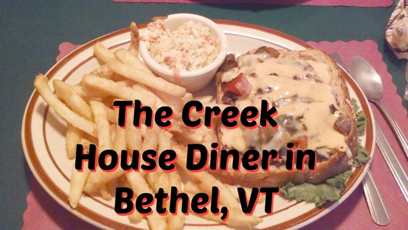 The Creek House Diner in Bethel Vt Happily Blended Travel Dining