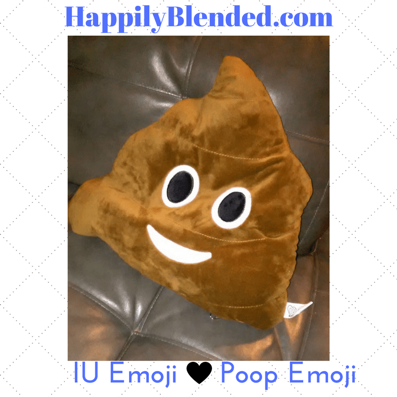 IU Emoji Poop Emoji Pillow Review