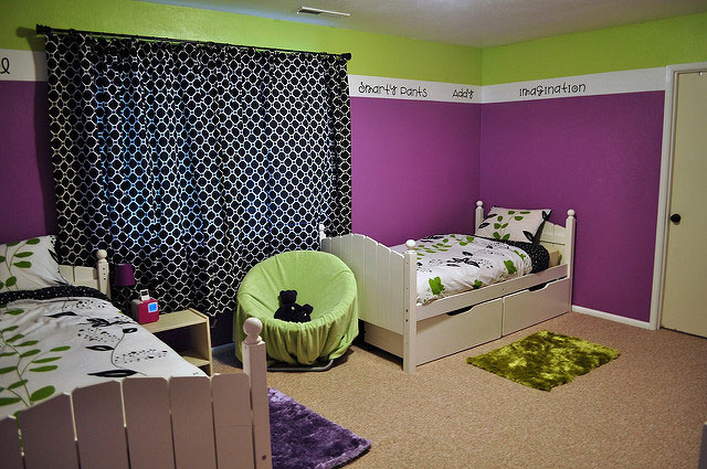Shared Bedroom for Boys and Girls
