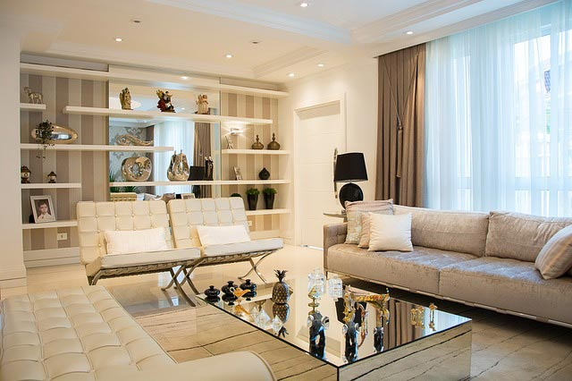 Using White Furniture as a Base for Your Living Room Decor