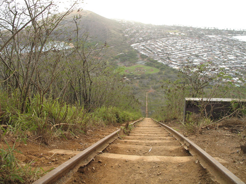 Climb the Koko Head Stairs