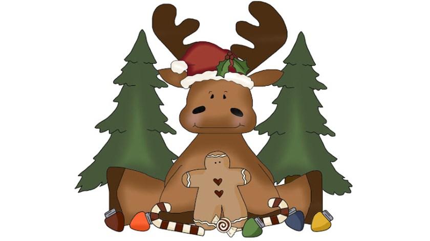 Christmas-Moose design