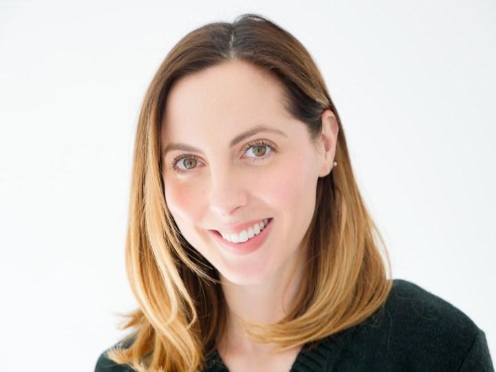 "Eva Amurri Martino of lifestyle and motherhood blog Happily Eva After wears Juice Beauty's luminous lip crayon in ""Venice"""