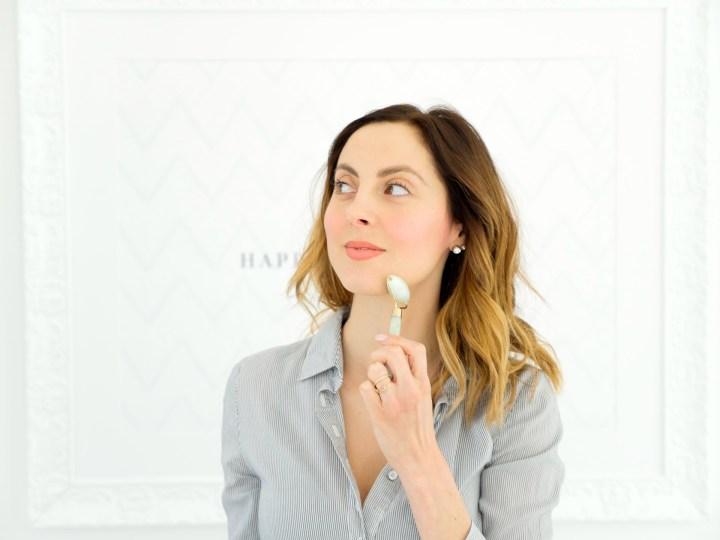 Eva Amurri Martino uses a Jade roller