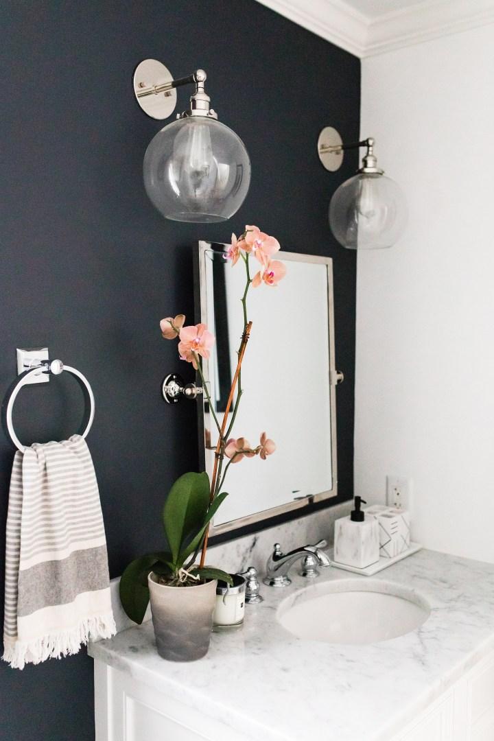 elegant wallpaper for powder room