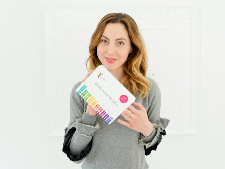 Eva Amurri Martino shares a DNA collection kit as part of her monthly obsessions post