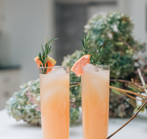 Eva Amurri Martino shares her recipe for a rosemary grapefruit cocktail