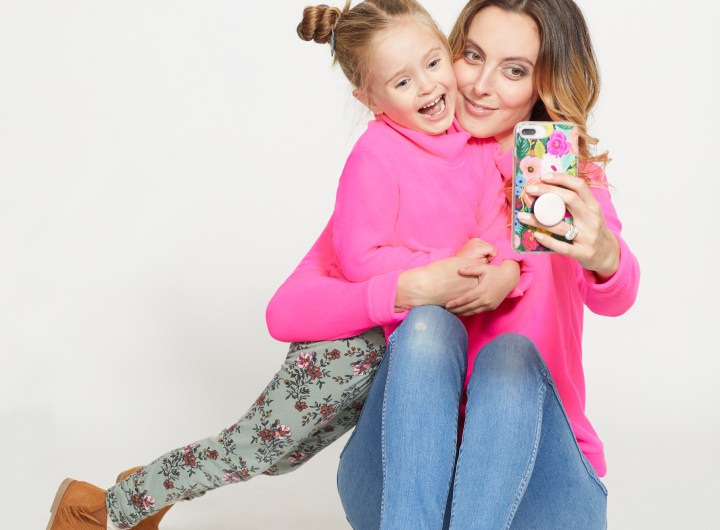 Eva Amurri Martino unveils the color of her collaborative Mother-Daughter fleece with Dudley Stephens