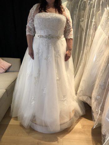 Size 24 Gown Bridal Boutique Dorset