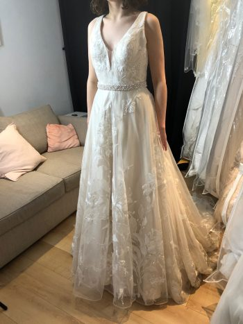 Kenneth Winston A-Line Gown - Size 8