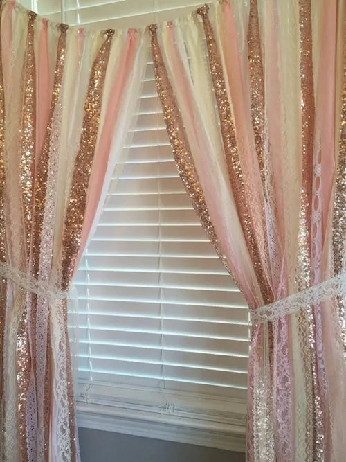 Rose Gold and Blush Nursery  Happily Ever After Etc
