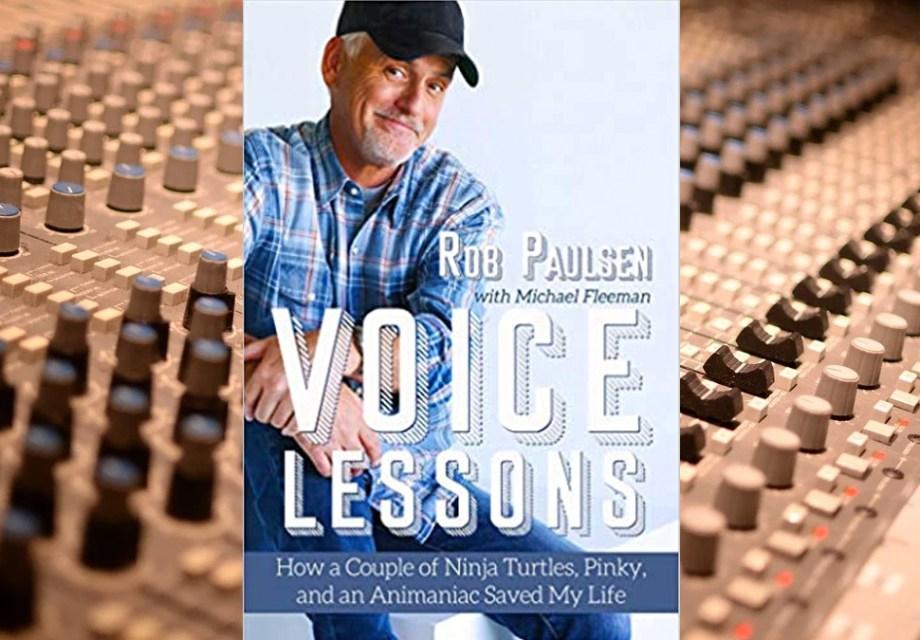 Rob Paulsen Voice Lessons Image Happy Ending Books