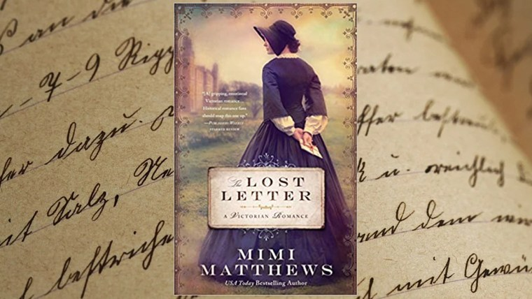 The Lost Letter by Mimi Matthews on Happily Ever Reads Blog