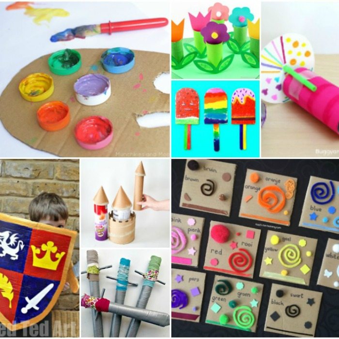 65 Awesome Cardboard Box Activities And Crafts For Kids