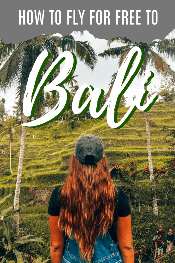 How to fly for free to Bali