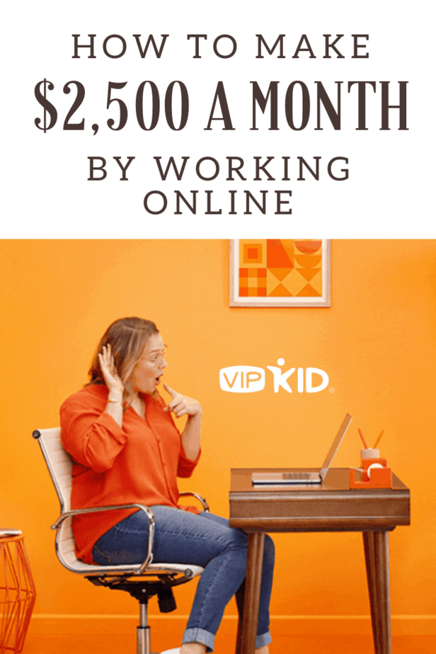 How to Make $2500 a Month by Working Online