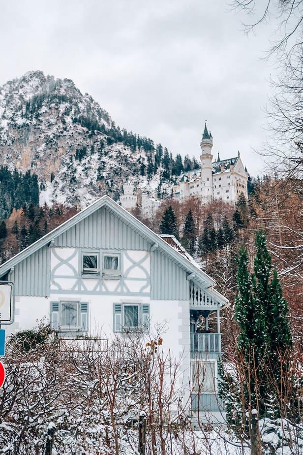 Hotel under the Neuschwanstein castle