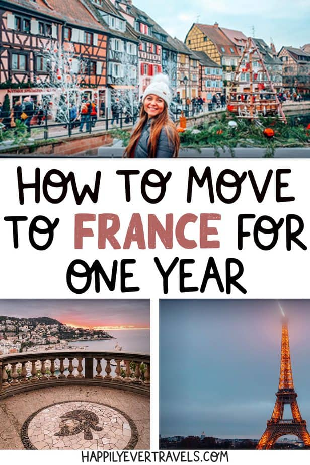 how to move to france for one year