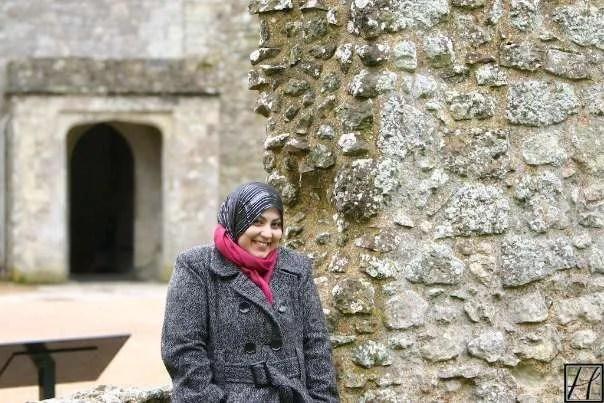 Hafsa smiling