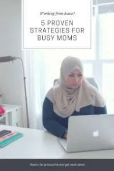 Pinterest image for 5 Proven Strategies for Busy Moms