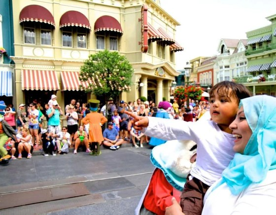 Social media is a highlights reel: mom and son at Disney