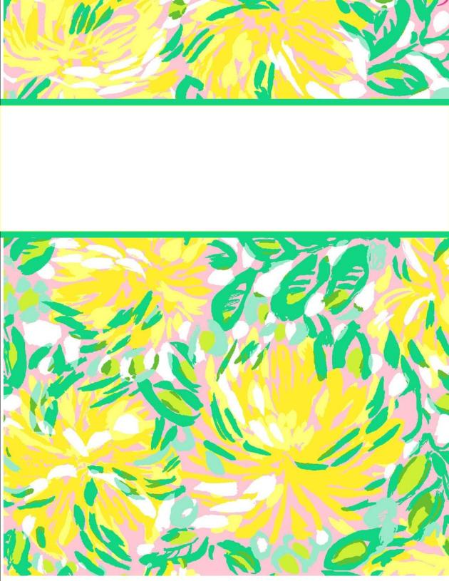 Cute Wallpapers For Binder My Cute Binder Covers Happily Hope