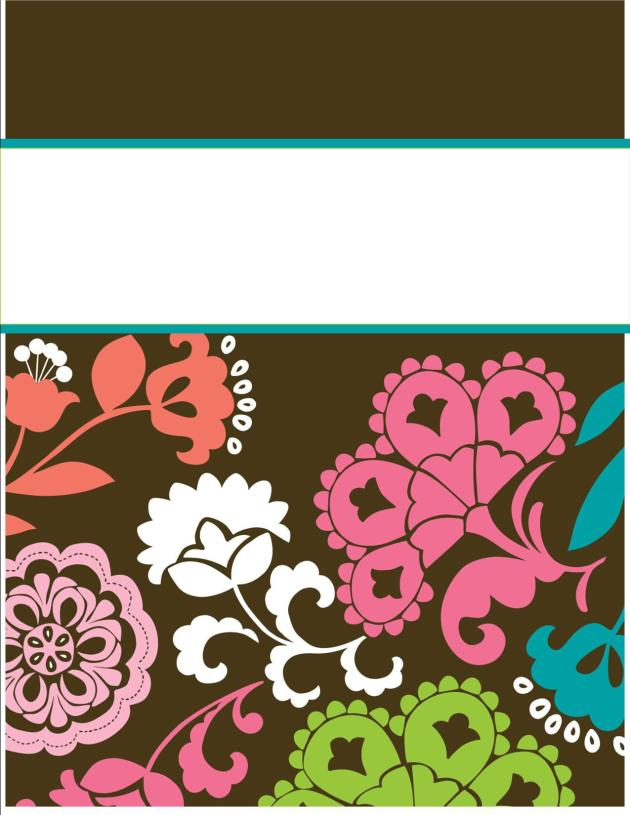 project binder templates