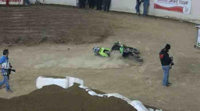 motorbike crash proposal
