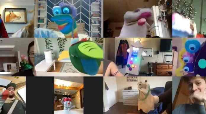 Sock puppets surprise