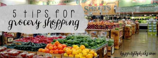 5 Tips for Grocery Shopping