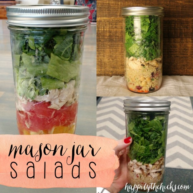 Mason Jar Salads instagram