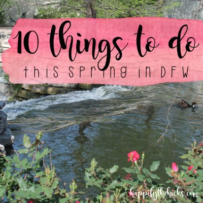 10 Things To Do This Spring2