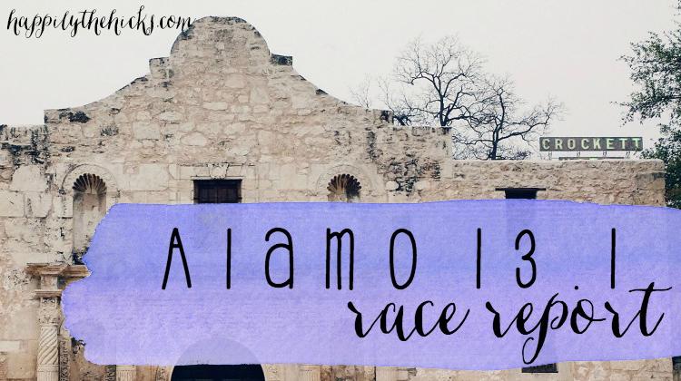 Alamo 13.1 Race Report featured