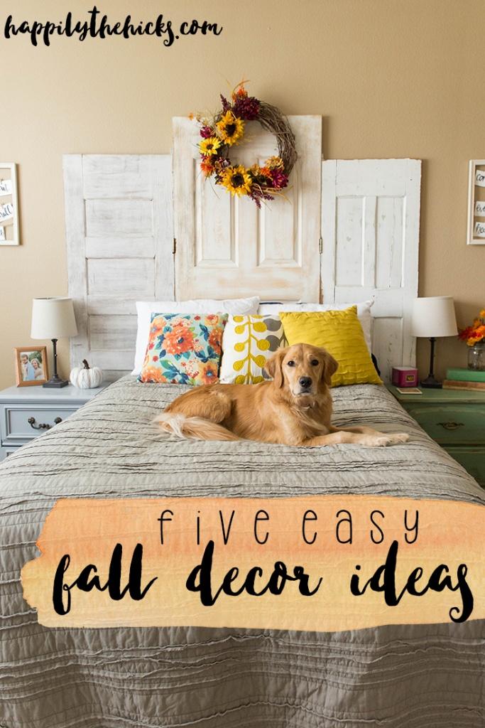 Fall decor made easy! | read more at happilythehicks.com