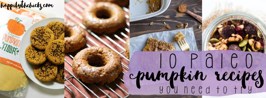10 paleo pumpkin recipes you NEED to try this fall!   read more at happilythehicks.com