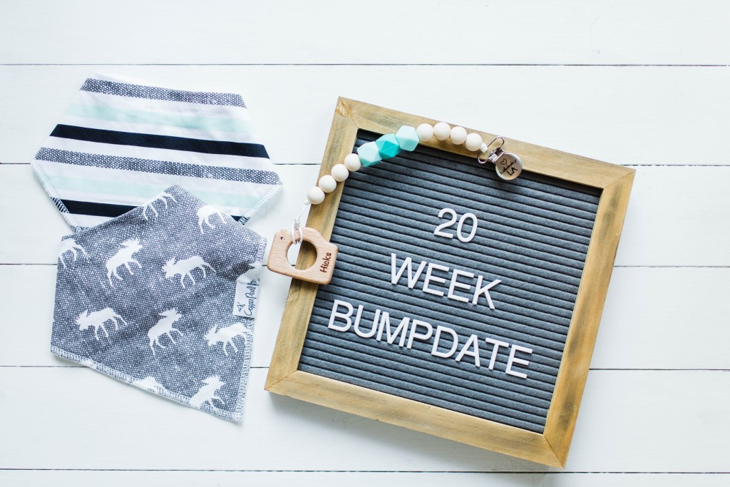 20 week bumpdate! | read more at happilythehicks.com