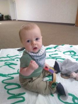 James Richard | Nine Month Update | read more at happilythehicks.com